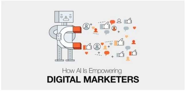 AI for digital marketers is not only changing the game